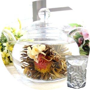 画像1: 業務用 工芸茶/茉莉仙子(茉莉花と千日紅) 100個入